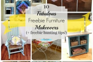 10 Fabulous Freebie Furniture Makeovers | Anastasia Vintage