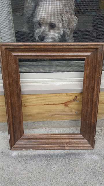 Repurposed Picture Frame Serving Tray {Thrift Store Decor Upcycle ...