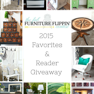 November Winner & My Favorite Picks (and a December Surprise!) {The Fab Furniture Flippin' Contest}