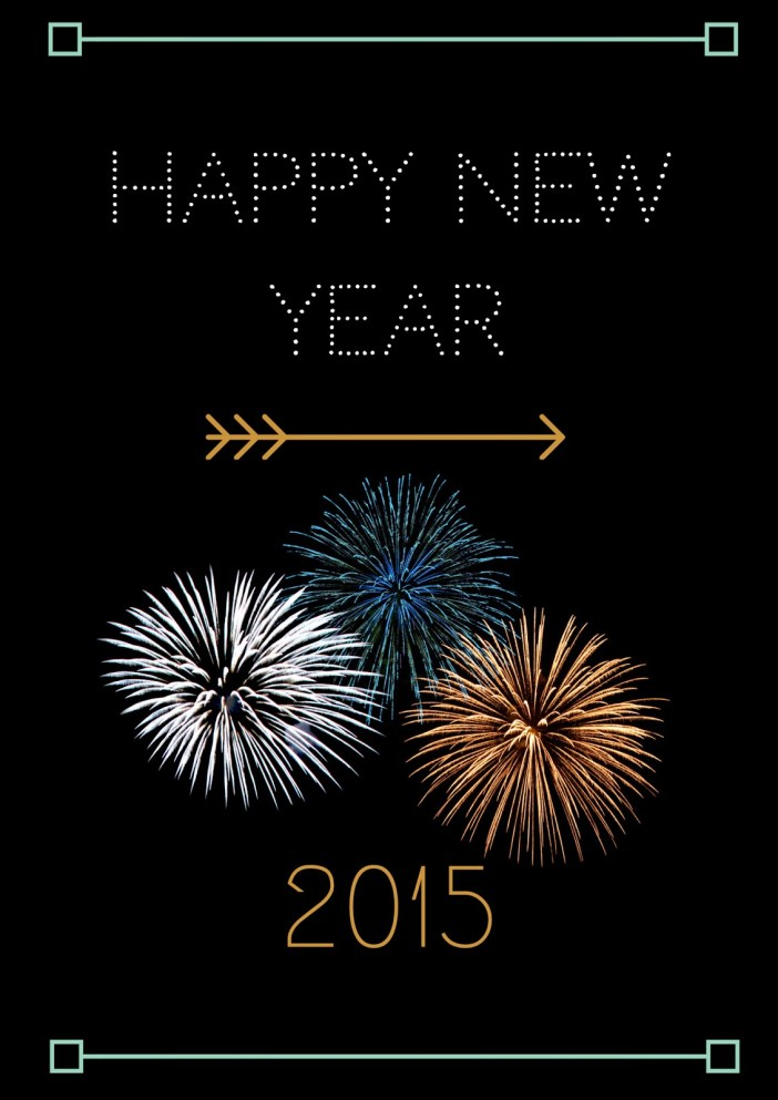 Happy New Year 2015 Party Printable