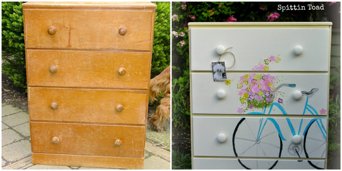 http://spittin-toad.blogspot.com/2015/02/bicycle-dresser.html