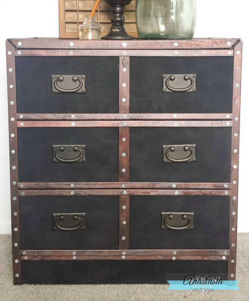IKEA hack pottery barn knock-off dresser designer furniture makeover