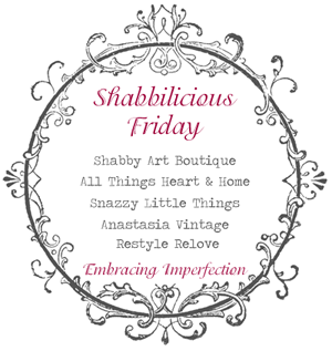 Shabbilicious Link Party | at SnazzyLittleThings.com