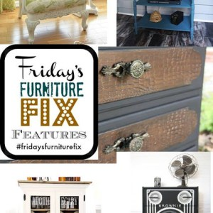 Friday's Furniture Fix Link Party {Week 5}