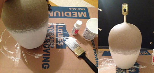 anthropologie hack white paint application