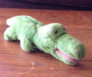 diy stuffed animal alligator painting