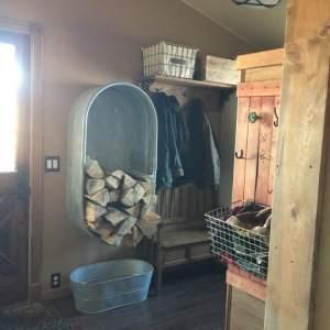 Repurposing Sheep Galvanized Water Tank