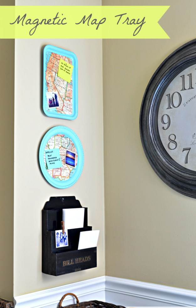 Magnetic-map-tray-Dollar-Tree-Craft-Project