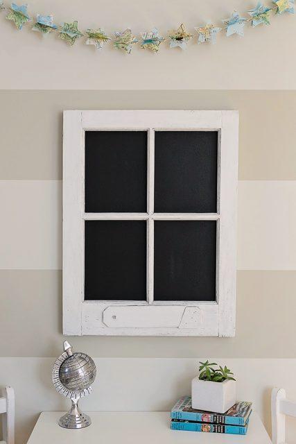 Chalkboard Window Cozy