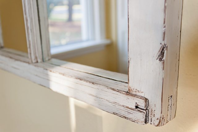 Window Frame Mirror Edge