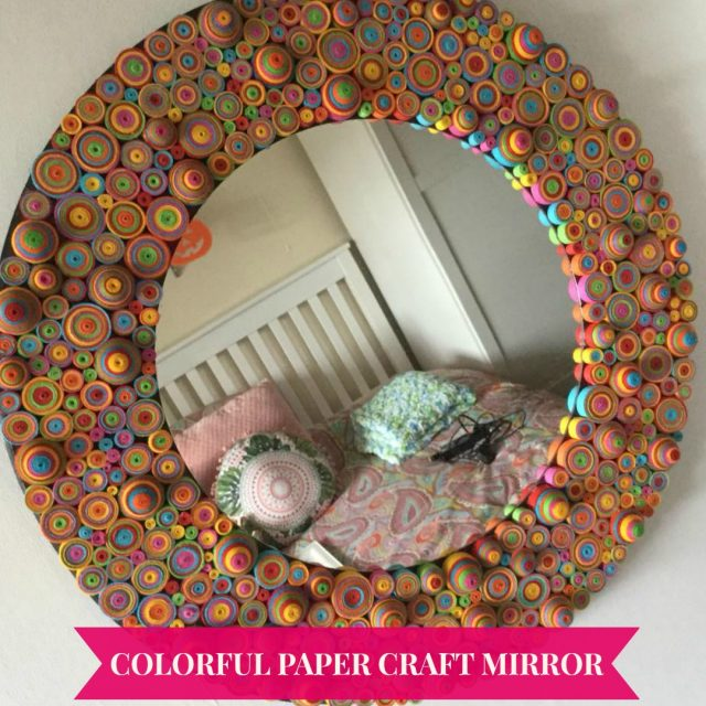 Funky Craft Mirror