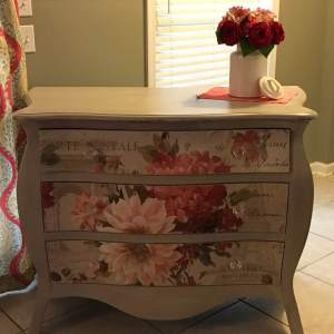 Yesterday I Decided To Give My Old Bombay Chest a Makeover