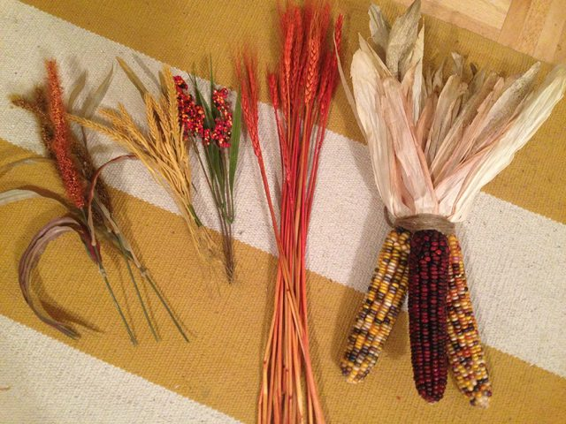 DIY Indian Corn Swag Embelishments