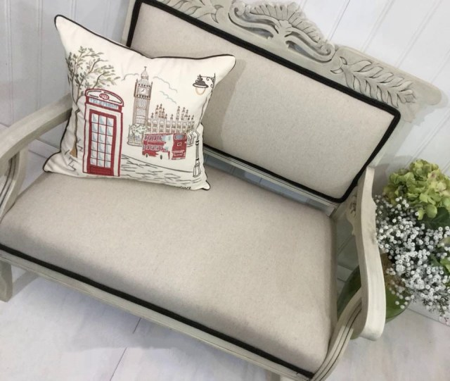 Pottery Barn Settee Pillow