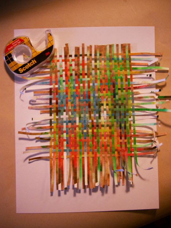 Construct Paper Weave