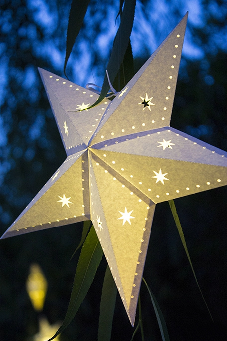 Star Paper Pendant