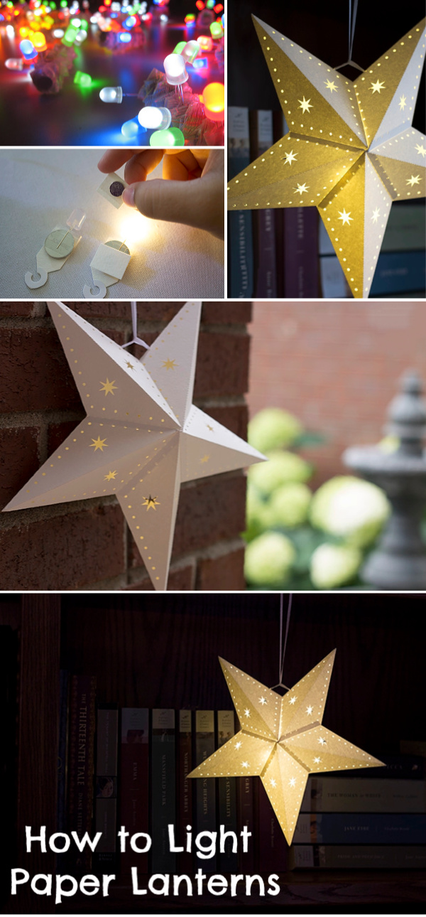 How To Light Paper Lanterns