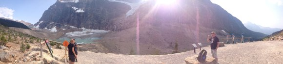 Rockies: Edith Cavell Glacier, trail head