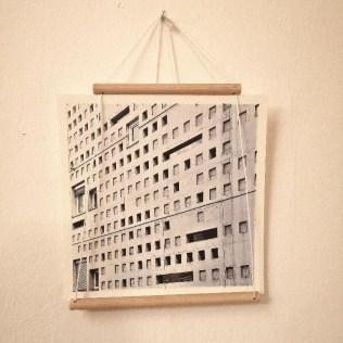 Diy Bildaufhängung Holz