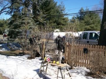 Repair a fence in Westport