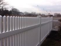 vinyl fence in Fairfield