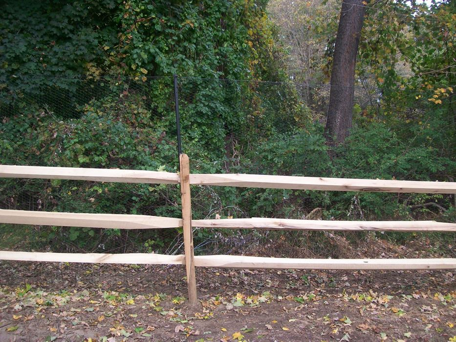 Post and Rail Fences 1