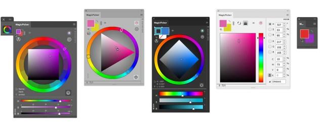 Resultado de imagen de modo de color hsb