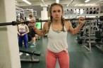 Fitness competitor and Michigan State University Junior, Lauren McBroom.