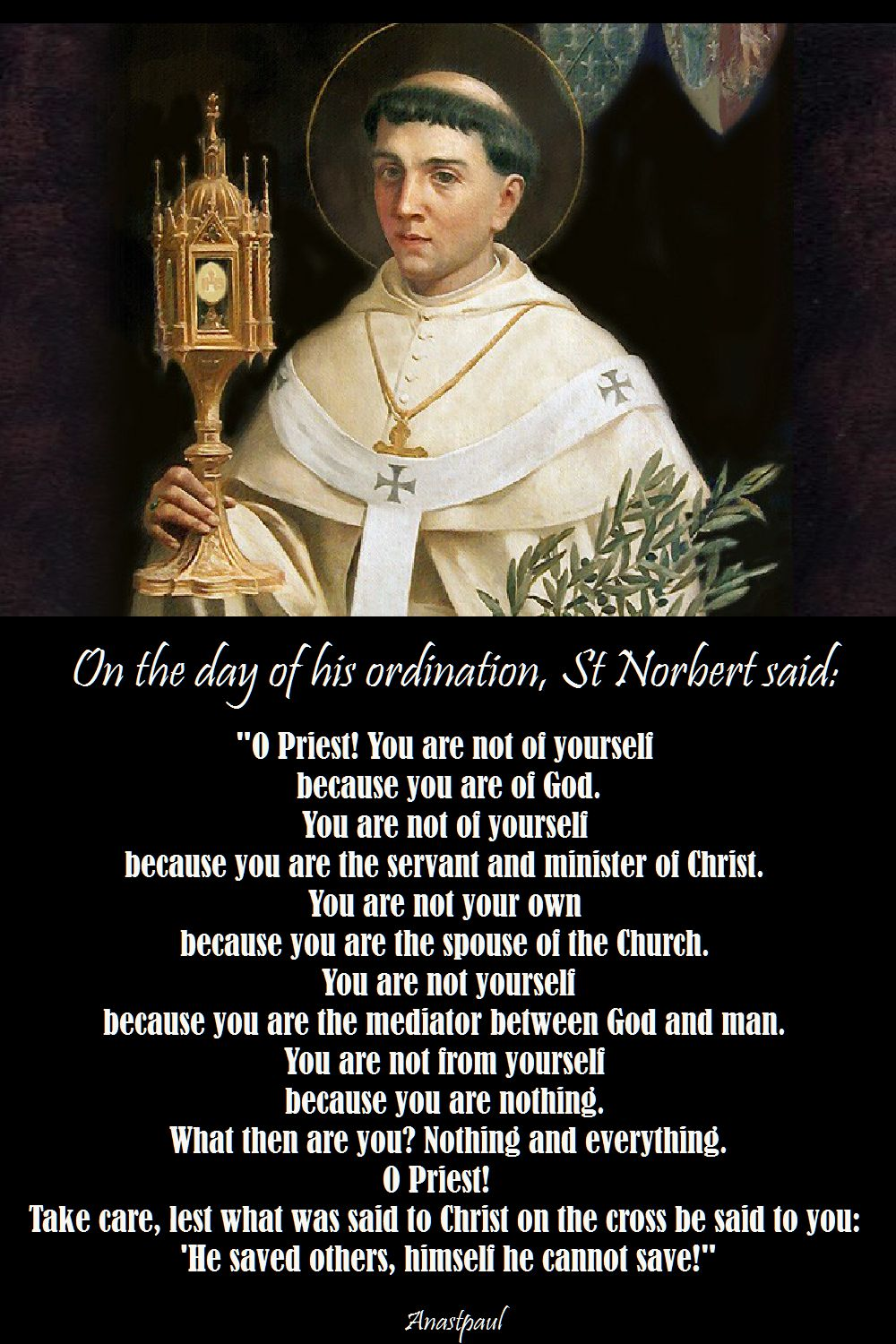 "St Norbert ""What is a Priest?"""