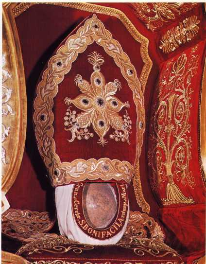 relic of st boniface