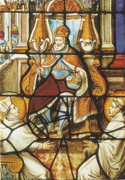 st norbert with st bernard