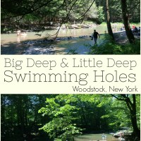 Big Deep and Little Deep Swimming Holes, Woodstock, NY