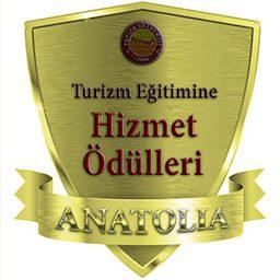 Anatolia Turizm Eğitimine Hizmet Ödüller