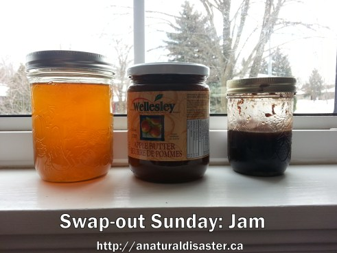 Honey, apple butter and fruit spread