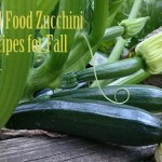 10 Real Food Zucchini Recipes for Fall