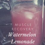 Watermelon Lemonade: Muscle Recovery formula