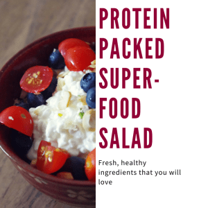 Protein packed salad