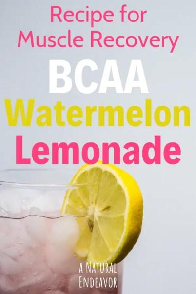 BCAA Watermelon Lemonade