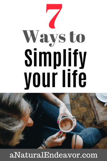 Simplify your life, self help, personal development