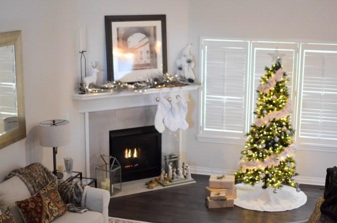 Christmas home, declutter