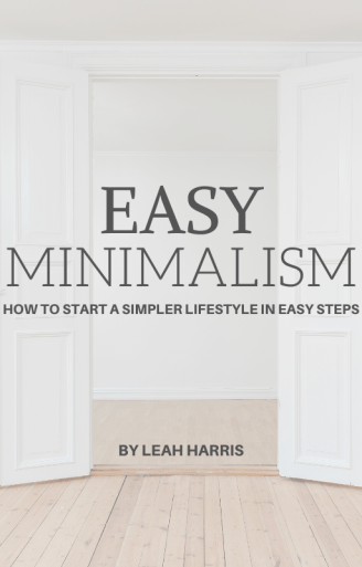 Easy Minimalism, simple lifestyle ebook