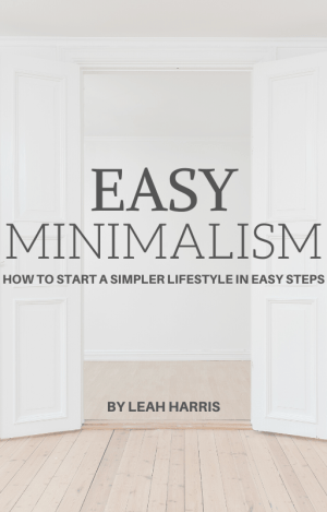 Easy Minimalism, simple living ebook