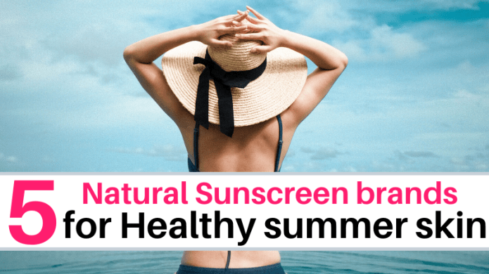Natural Sunscreen for healthy skin