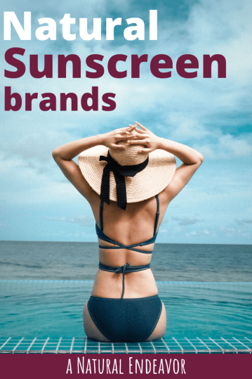 Natural Sunscreen brands for summer