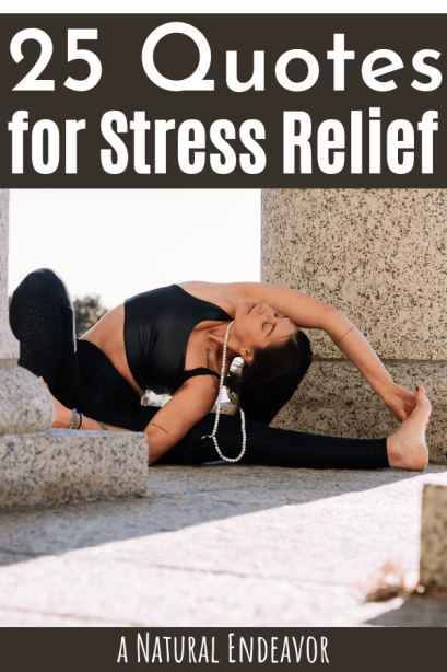 quotes for relieving stress