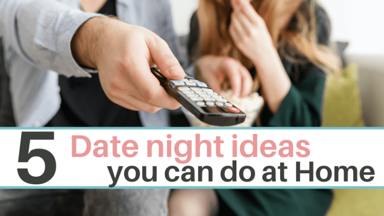 Fun date night ideas you can do at home