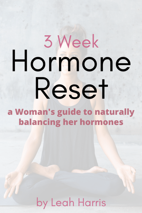 3 Week Hormone Reset guide