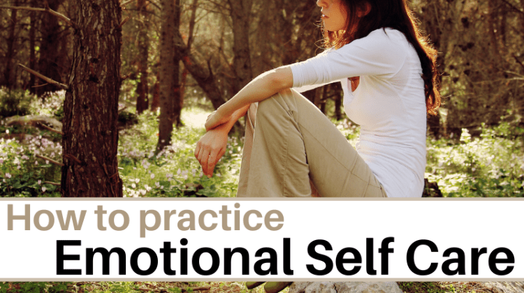 How to use emotional self care