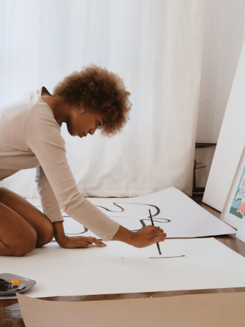 Practice creativity as a form of self expression