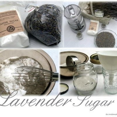 Make Lavender Sugar
